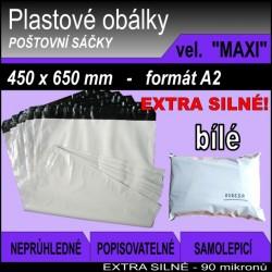 Plastová obálka vel. MAXI (450 x 650 mm), formát A2